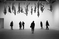 hanging mannequins