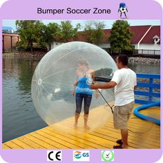 Details about Inflatable 2M Walking Rolling Balloon Zorb