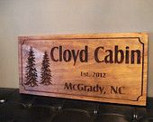 Rustic Wooden Ranch Cabin Address Sign Carved Address Plaque House Sign Personalized Sign Mothers day fathers day gifts Benchmark Signs #53