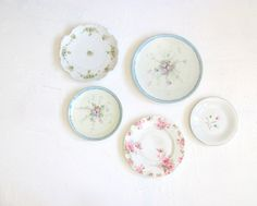 Vintage Porcelain Plates