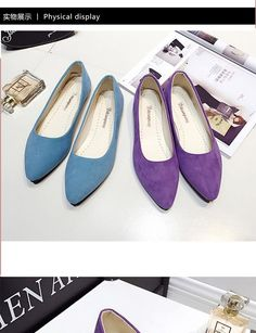 Buy Shoeland Pointy Flats at YesStyle.com! Quality products at remarkable prices. FREE Worldwide Shipping available!