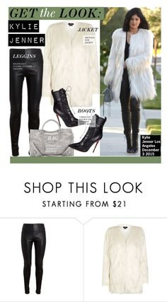 """""""Get The Look-Kylie Jenner"""" by kusja ❤ liked on Polyvore featuring Balenciaga, Christian Louboutin, GetTheLook, celebstyle and KylieJenner"""