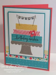 Build a Birthday, Stampin' Up!,