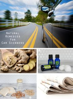 If traveling by car, train, plane, or boat makes you queasy...get relief that doesn't require popping pills or being drowsy with these natural motion sickness remedies.
