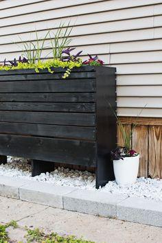 Decorative Outdoor Planter DIY
