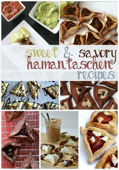 17 Sweet & Savory Hamantaschen Recipes. From taco and sushi to lemon bar and cookie dough, there's something for everyone on this round-up of new hamantaschen recipes.