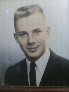 Vintage flattop haircut