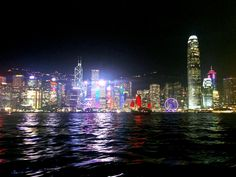 Ferris wheel in Hong Kong by leocary