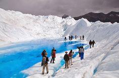 Il ghiacciaio Perito Moreno è situato nel Parco Nazionale Los Glaciares a sud ovest della provincia di Santa Cruz in Argentina.