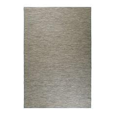 HODDE Vloerkleed, glad geweven, binnen/buiten grijs, zwart 200x300 cm binnen/buiten grijs/zwart