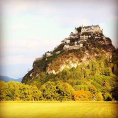 Your castle awaits. Photo courtesy of Instagram's kbyoga at the Castle Hochosterwitz in Austria.