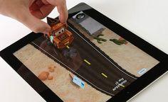 Carreras de coches para iPad con #Disney AppMATes