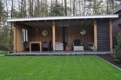 Anna - Tuinhuizen/Buitenkamers - Projecten | van den Berg Houtbouw