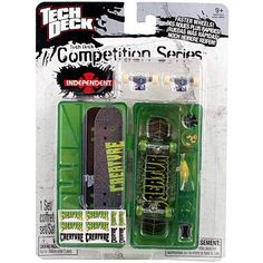 Tech Deck Competition Series [Creature Skateboards]