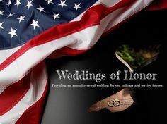 WEDDINGS OF HONOR provides an annual renewal Wedding of Honor for military and service heroes. #military #vow #renewal #wedding http://www.operationwearehere.com/Wedding.html
