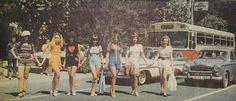 Bağdat Caddesi'nde şort defilesi (Temmuz 1971)#istanbul #kadın #birzamanlar #istanlook