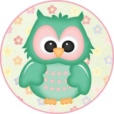 MAKE YOUR OWN CUTE DECORATION - Flower Owls #5