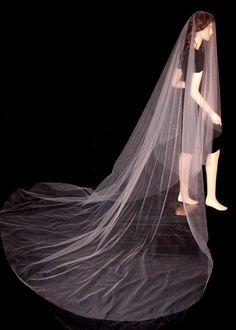 Drop Veils - Bridal > Wedding Veils > Cathedral Drop Veil DR13 at OBridal.com