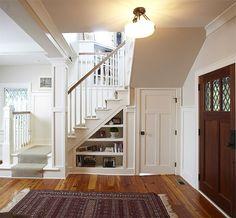 Картинки по запросу места для хранения под лестницей