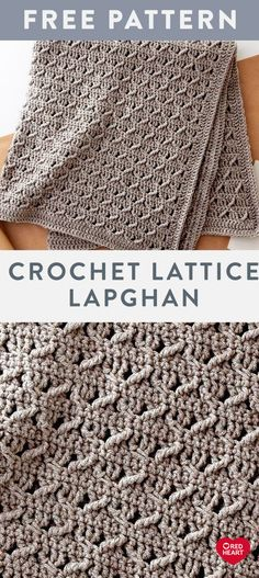 Crochet Lattice Lapghan free easy crochet pattern in Suoer Saver yarn. Alternate… Crochet Lattice Lapghan free easy crochet pattern in Suoer Saver yarn. Alternate…,Crochet Crochet Lattice Lapghan free easy crochet pattern in Suoer Saver. Crochet Afghans, Crochet Stitches Patterns, Knit Or Crochet, Crochet Crafts, Single Crochet, Knitting Patterns, Crochet Blankets, Free Crochet Afghan Patterns, Crochet Projects