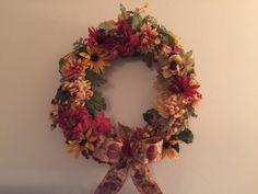 Autumn Wreaths by CraftyBiagiaEmporium on Etsy https://www.etsy.com/listing/462243086/autumn-wreaths