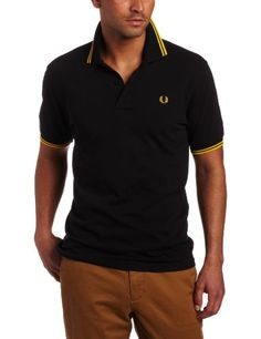 4c5a3d8787fe0 Fred Perry Men s Twin Tipped Polo Shirt Fred Perry Polo Shirts