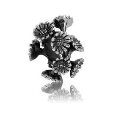 Daisy Chain (Companionship) | NZ Silver Bracelet Charms - evolve-jewellery.co.nz