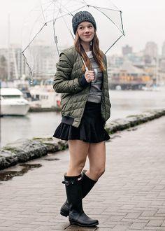Styling Rain Boots & Wellies