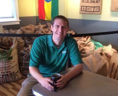 Jeffrey Myers, founder of Abednego Coffee Roasters, donated 25 percent of his company's July sales to Five Talents.