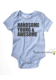 Baby Boy Onesie. $18.00, via Etsy.