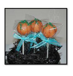 Pumpkin Cakepops.