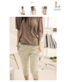 2015 Newest summerautumn pants Plus size XXL women pants Fashion cropped trouser 2015 shirts https://www.sunfrog.com/Best-Sellers/?7833