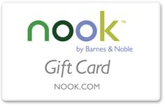 [Barnes + Noble] 'nook' Gift Card. Always a good idea for Mom!