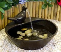 Vomiting Dove Water Feature NICE!