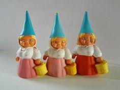 David de Kabouter: mand David the Gnome: basket