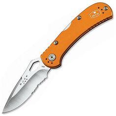 Mini Spitfire, Orange Aluminum Handle, Plain