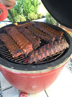 Babybackribs, 4 h low and slow♨️