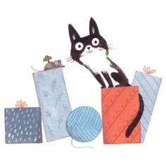 Christine Pym // December 8th #illo_advent #advent #illustration...