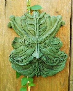 Angry Green Man