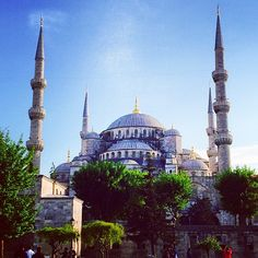 The Blue Mosque in Istanbul...been there! :)