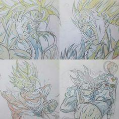 Art Reference Poses, Drawing Reference, Dragon Ball Z, Gogeta And Vegito, Jeep Wheels, Manga Dragon, Ball Drawing, Graffiti Lettering, Manga Pages