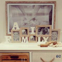 #MandarinaHome #Mandarina #marco #multifoto #cuadro #foto #mueble #decoración #regalo #natural #family #cuerda #piedra