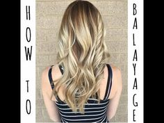 How To Balayage With a Base Color - Step by Step - YouTube