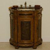 "Found it at Wayfair - Caden 31"" Single Demilune Bathroom Vanity Set"