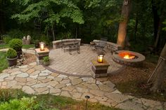 Backyard patio and fire pit designs outdoor fire pit patio ideas design and Propane Patio Fire Pit, Fire Pit Backyard, Backyard Fireplace, Backyard Pools, Outdoor Fireplaces, Gazebo, Pergola Patio, Fire Pit Landscaping, Landscaping Ideas