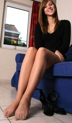 Pictures Of Womens Feet And Pantyhose