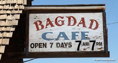 Bagdad Cafe - Route 66 in Newberry Springs, California