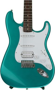 Squier Affinity Series Stratocaster HSS Rosewood Fingerboard Race Green for sale online Cheap Guitars, Musical Instruments, Racing, Green, Ebay, Music Instruments, Running, Auto Racing, Instruments