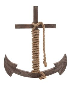 Wood & Rope Anchor
