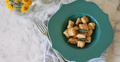 Homemade gnocchi--no equipment required I thought this was potato pasta? Looks yummy anyway. Ricotta Gnocchi, Great Recipes, Dinner Recipes, Favorite Recipes, Gnocchi Recipes, Endive Recipes, Radish Recipes, Pasta Maker, Beltane
